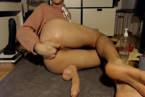 lusty young twink Plays With His toys In A Pink Top