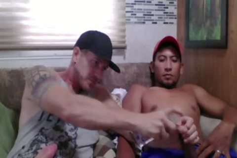 Straight Latino Construction Worker acquires First cook jerking From A guy (Martin two)