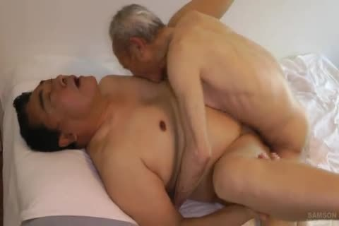 Japanese bulky Daddy Sex With monstrous shlong grand-dad
