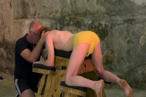 tied Up Sub With Mouthfold Endures torture By Sebastian Kane