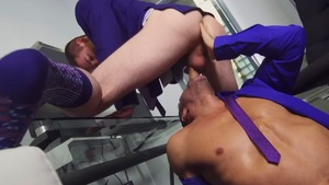 ASSisting The CEO - Manuel Skye with Thyle Knoxx butthole slam
