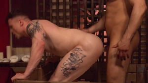 DrillMyHole: Jean Franko escorted by Chris Loan ass licking