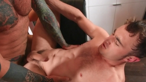 Drill My Hole - Markus Kage with Michael Boston cumshot indoor