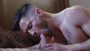 IconMale - Casey Everett and Nick Fitt sensual kissing
