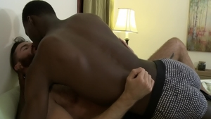 IconMale - Ebony gay Drake Magnum interracial fucking