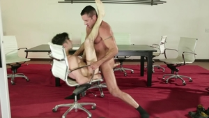IconMale - Andy Banks plowed by big penis mature Nick Capra