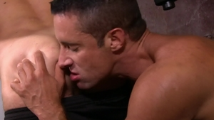 Icon Male - Hairy gay Max Sargent reality anal HD