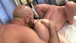 IconMale.com: Jock Brent Corrigan wishes rough nailing in HD