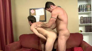 IconMale - Hairy Nick Capra with Lance Hart ass fuck