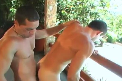 Latino Muscle raw In Paradise XXX